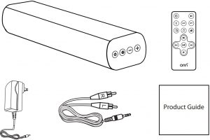 Diagram showing package contents