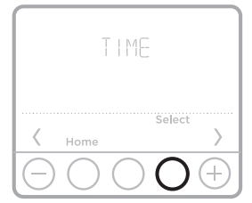 Setting the time diagram