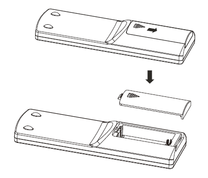 Battery replacement illustrated diagram