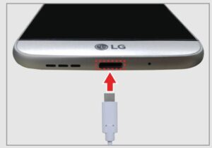 Charging your LG G5