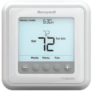 Honeywell Pro Series Thermostat Manual Image