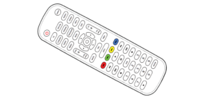 Onn 6-Device Universal Remote User Guide Image