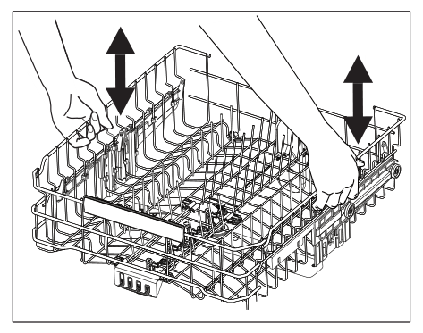 Adjusting the loading rack