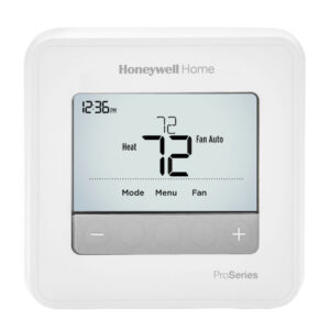 Honeywell Home T4 Pro Thermostat User Manual Image
