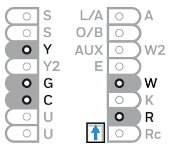 Wiring terminals guide