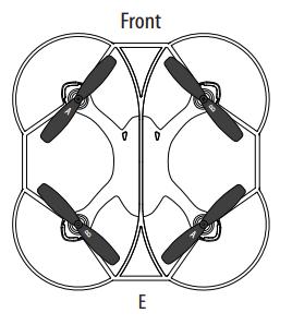 Zipp Nano Drone propellers diagram