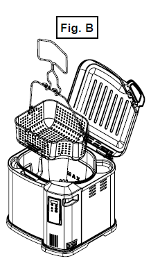 Lower the basket into the fryer slowly